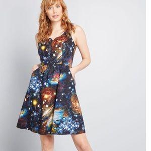 Fervour ModCloth Heart & Solar System Dress